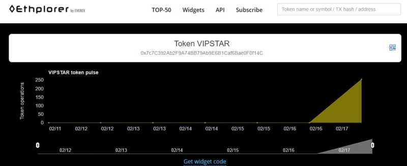 仮想通貨 VIPSTAR