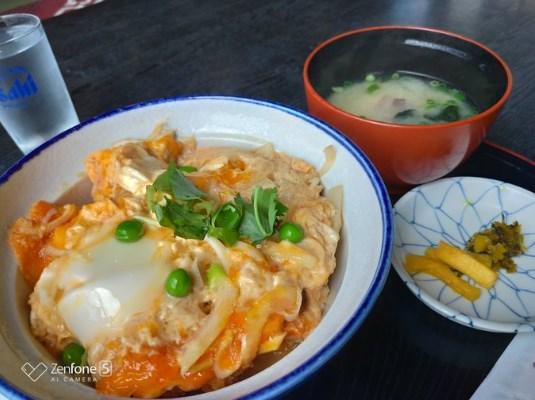 鏡山温泉茶屋 美人の湯のカツ丼
