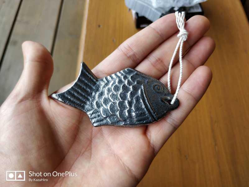 鉄分サプリメントの代わりに、鉄の鯛を食べることにした。