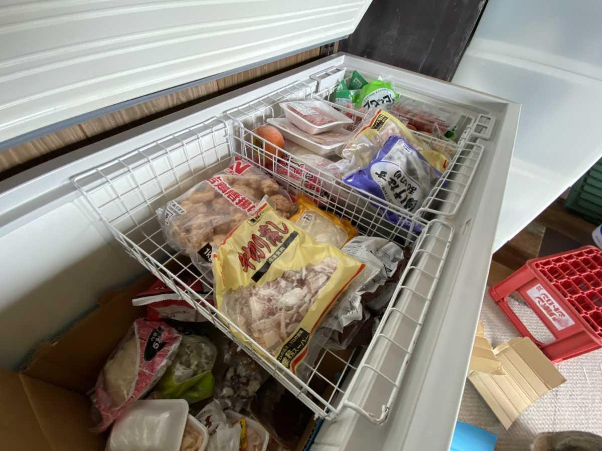 冷凍庫(ストッカー)用のカゴの作り方