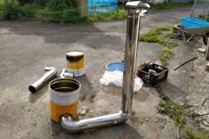 ビニールハウス用の薪ストーブを作る【ロケットストーブ , DIY】